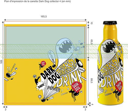 dark dog bottle technical settings