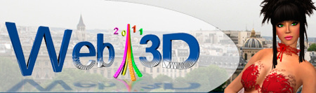 web3d 2011 Confrence internationale sur la technologie web 3d